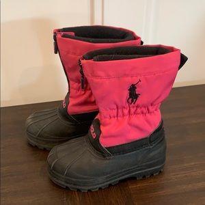 Girls Ralph Lauren snowboots size 9
